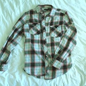 perl snap flannel